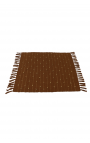 Brown handcrafted placemats