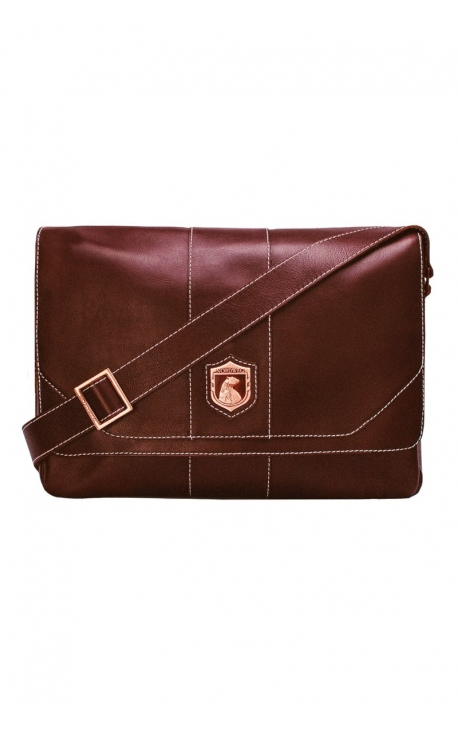 Men's leather bag for laptop