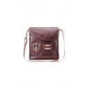 Leather men's bag for iPad and netbook