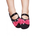 Non-slip socks - Polka dots print