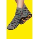 Non-slip socks for boys - Cars print