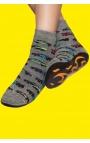 Zapatillas calcetín para niños - estampado coches