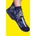 Calcetines antideslizantes niños - estampado fuerza aérea
