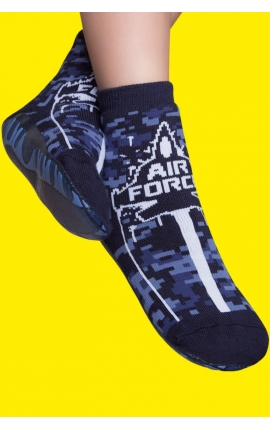 Grippy No-Slip Socks black