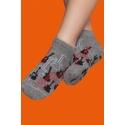 Non-slip socks for boys - Guitar print