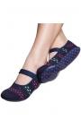Calcetines con suela de goma - azul marino