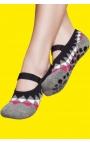 Zapatillas para Yoga - estampado triángulos