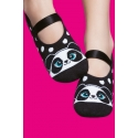Grip sole pilates socks - Panda