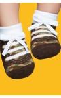 Zapatos calcetín con suela antideslizante - estampado deportivas 1