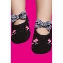 Calcetines antideslizantes bebé - estampado rosas