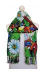 Colourful Foulard - colours and capoeira motifs