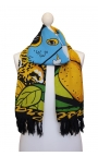 Printed Scarf - Brazilian flag style