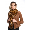 Animal Print Scarf - Cheetah skin