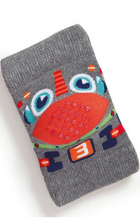 Baby knee pads - robot print
