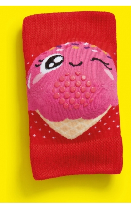Baby knee pads - Ice cream print