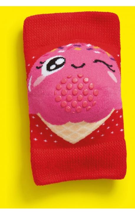 Baby knee pads - Ice cream print