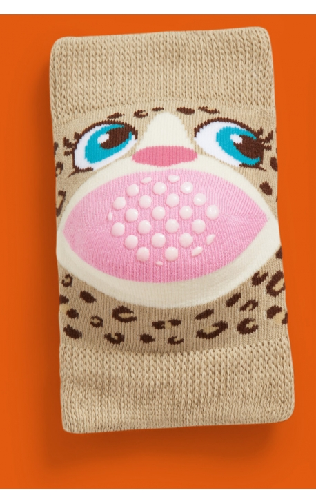 Baby knee pads - Animal print