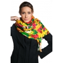 Original Foulard decorated with tropical fruits