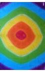 Fular estampado con colores del Arco Íris