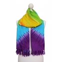 Printed Colourful Shawl - Rainbow