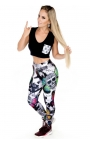 Women's sports tights - Butterfly