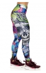 Leggings - Mexican Skull print