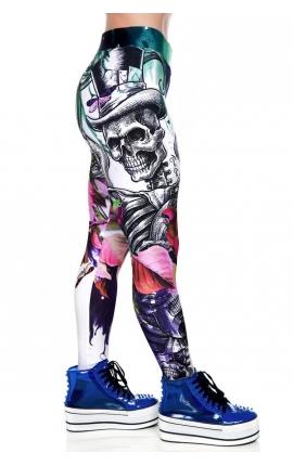 Pantalón Deportivo Music Skull