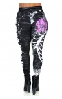 Rock Code sports tights - Shadow of Roses