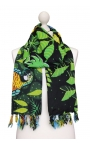 Printed beach scarf - Pantano Cartoon