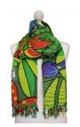 Pañuelo turbante con dibujos animados - Jardín Botánico Cartoon