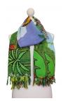 Multipurpose Printed Kerchief - Botanical Garden