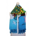 Printed scarf - Rainforest Cartoon