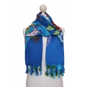 Naif Printed Foulard - Festival Cartoon