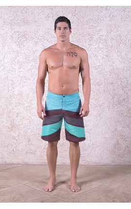 Board short Ocean Wave azul
