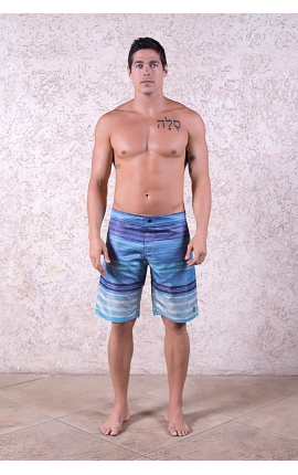 Men's swim trunks Ocean Wave - Blue