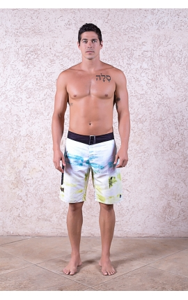 Boardshort Ocean Wave blanco