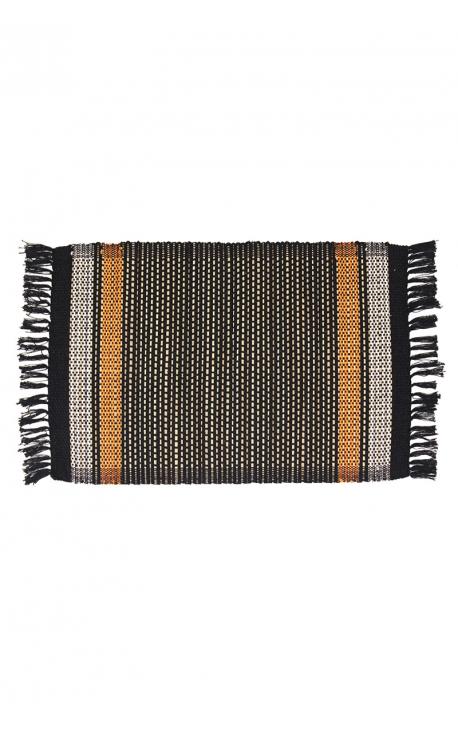 Manteles individuales artesanales de palitos de coco en 3 tonalidades