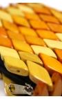 Cartera monedero hecha a mano con madera - Colores variados