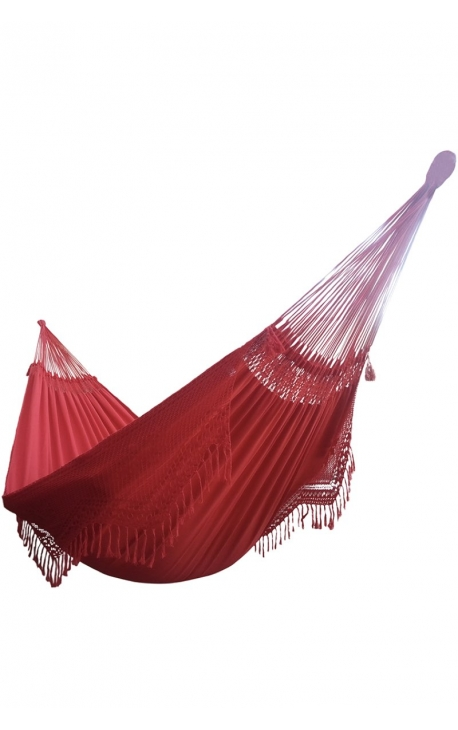Red hammock - Two-person Brazilian Hammock