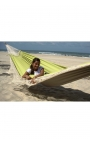 Garden hammock - Two-person Smooth Green Brazilian Hammock
