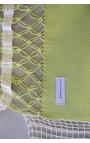 Garden hammock - Two-person Smooth Green Brazilian Hammock