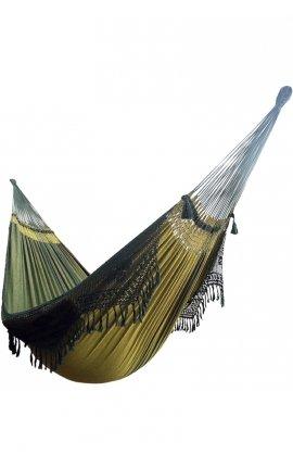 Green hammock - Family size Brazilian Hammock