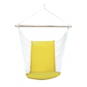 Silla colgante para exteriores - Amarilla