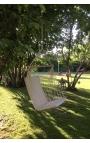 Silla de jardín para colgar - Color crudo