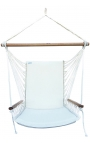 Hanging Chair with Armrests - Backed Hanging Armchair