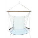 Indoor Hanging Chair - Brazilian Backed Hanging Armchair
