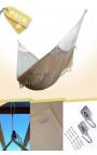 Hamaca Colgante Doble Brasileña Natural