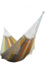 Pack Family-size Coloured Brazilian Hammock + Cushion + Attachments
