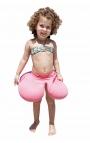 Flotador antivuelco para bebés - Rosa