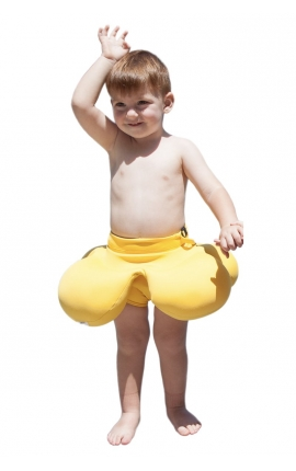 Flotador para bebés de piscina - Amarillo